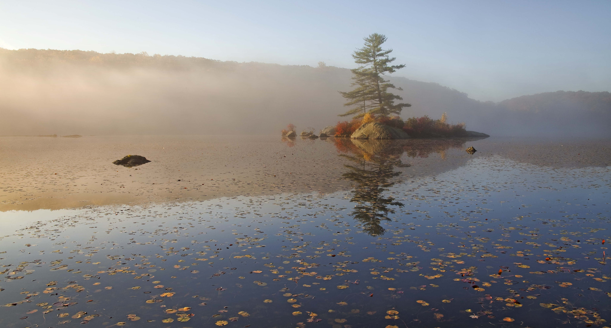 Photograph Autumn, Little Long Pond, Hudson Valley, 2012 by Christopher Wisker on 500px