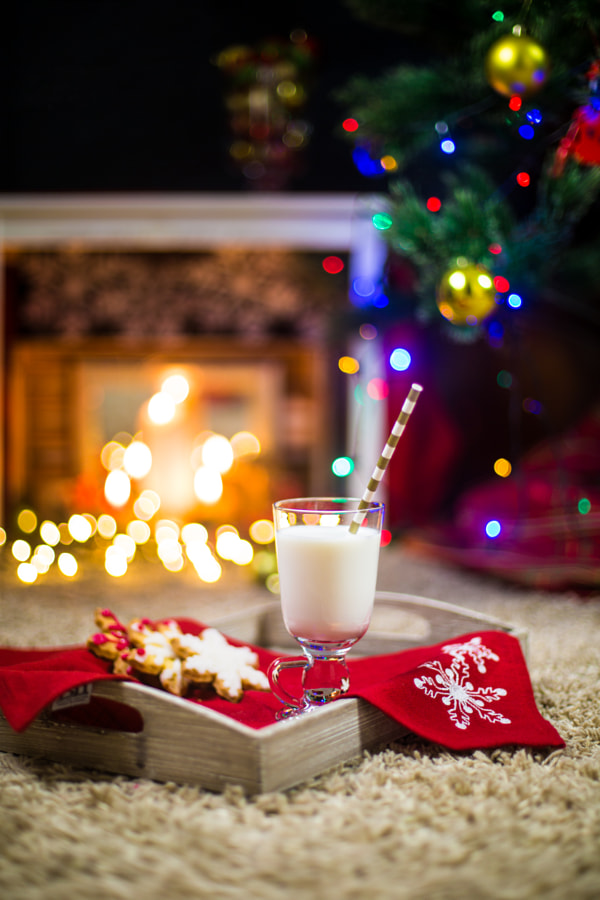 Milk for Santa at Christmas night by Chinara Rasulova on 500px.com