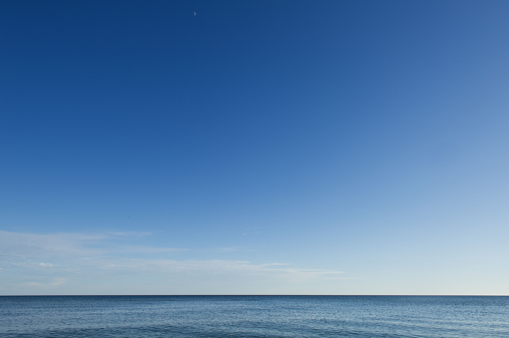 Photograph Blue Sea Sky by Curtis  Baker on 500px