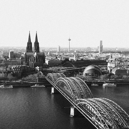 Köln Panorama, Canon EOS 80D, Canon EF-S15-85mm f/3.5-5.6 IS USM