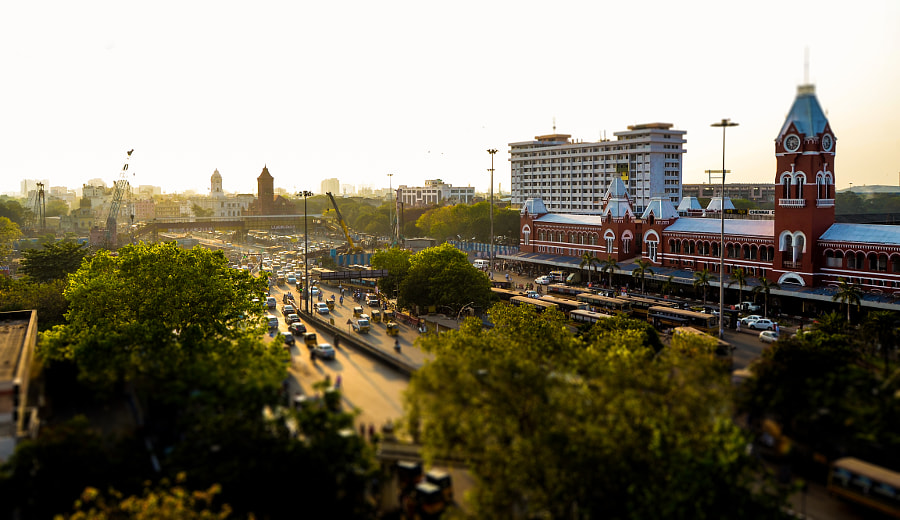 Chennai Central by Vignesh Kumar on 500px.com