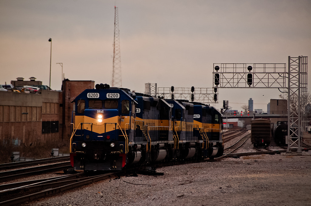 Photograph galewood railroading by Sam D. on 500px