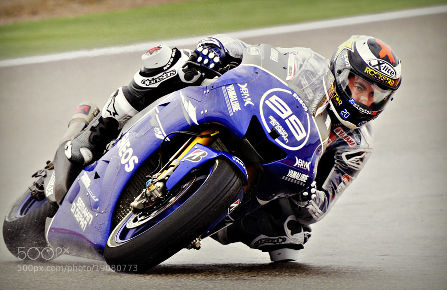Photograph Jorge Lorenzo by Jose Andres Sanchez  on 500px