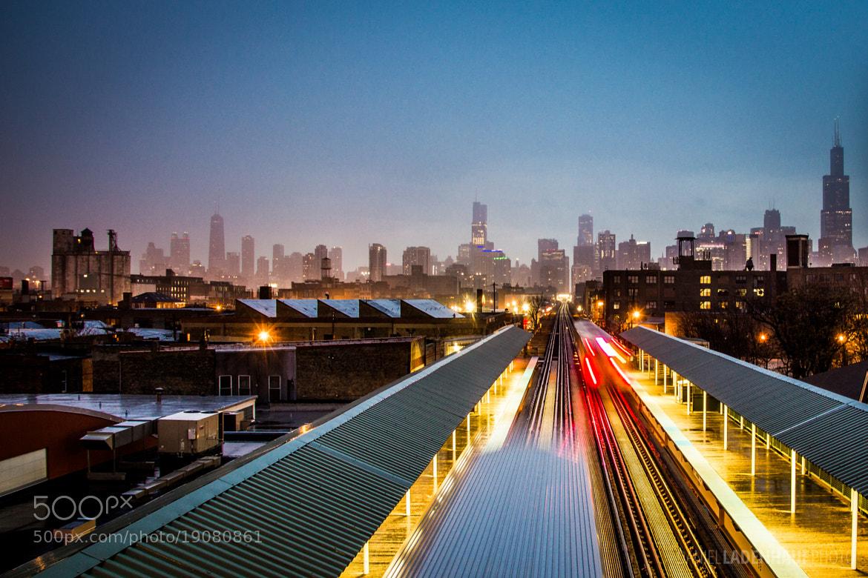 Photograph Rainy Skyline by Daniel Ladenhauf on 500px