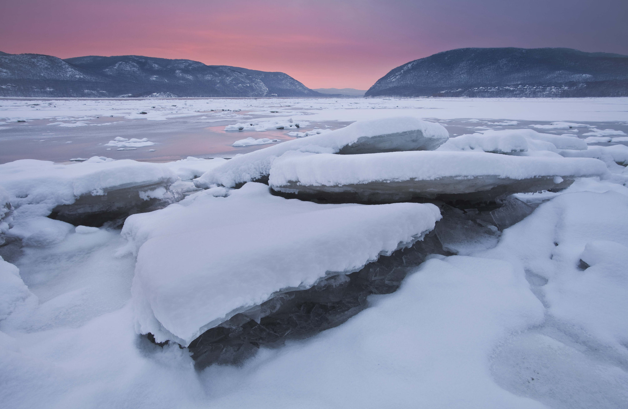 Photograph Fire and Ice, Hudson Valley, NY, 2011 by Christopher Wisker on 500px