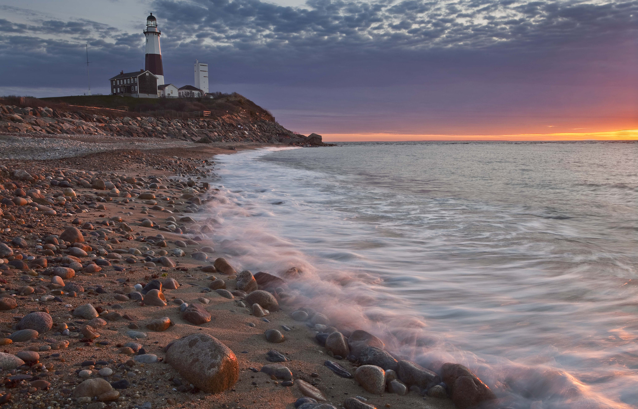 Photograph Montauk Point Sunrise, Spring, NY, 2012 by Christopher Wisker on 500px