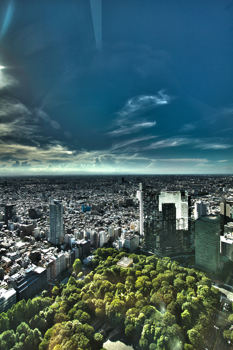 Photograph View from Tokyo Metropolitan Government Building HDR by Scott Novak on 500px