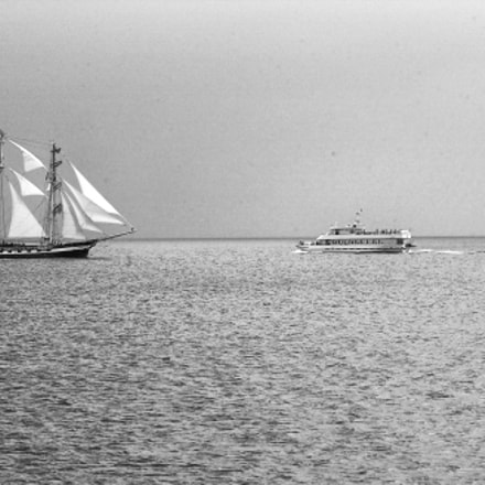 Ships on the Baltic, Nikon D1