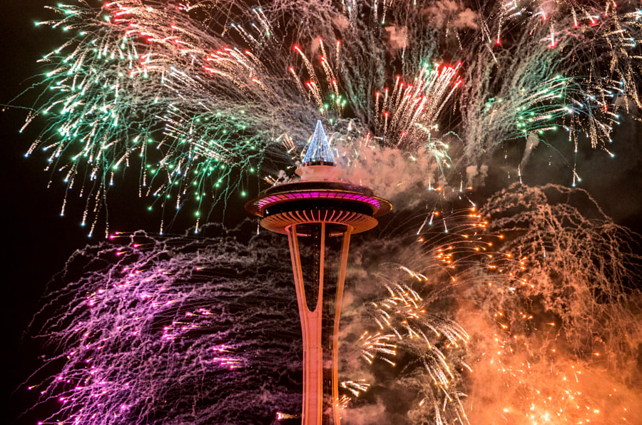Happy New Year from Seattle! by Navid Baraty on 500px.com