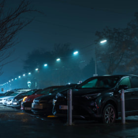 Photograph rainyNights by Lukas Bachschwell