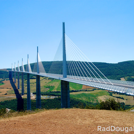 Beautiful Millau Viaduct
