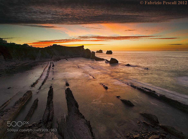 Photograph Playa de la Arnia - www.fabriziopescali.com by Fabrizio Pescali on 500px