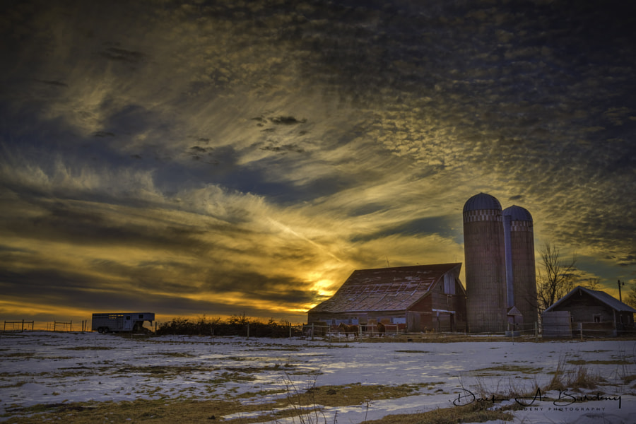 Rural America New Year by Derek Burdeny on 500px.com