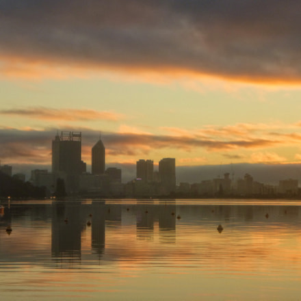 Perth sunrise, Panasonic DMC-FT20