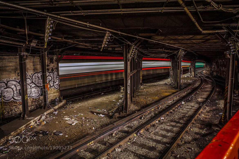Photograph Train on overdrive by Ian Carlos De La Cruz on 500px