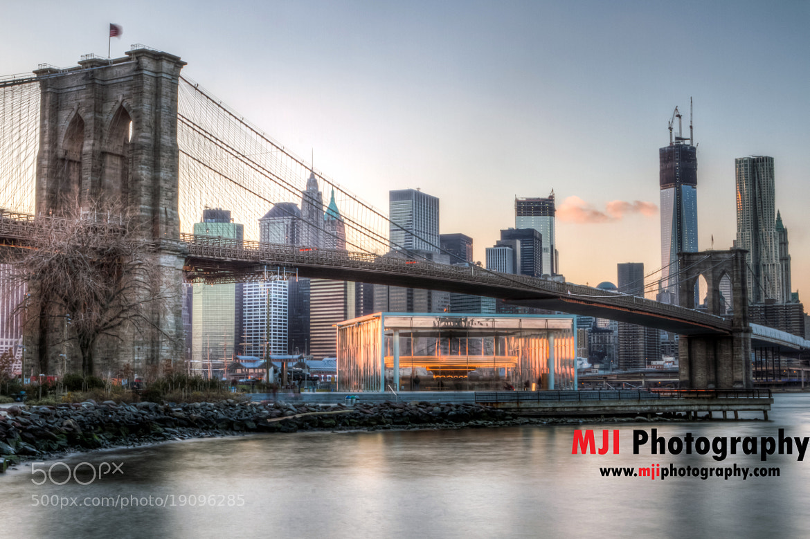 Photograph Brooklyn Bridge at Sunset by Mike Ippolito on 500px