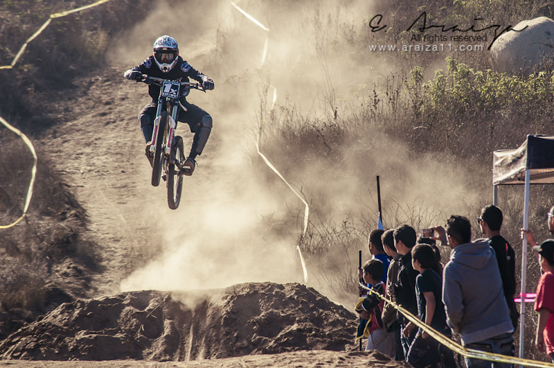 Photograph Who need wings when You race in DH? by E. Araiza on 500px
