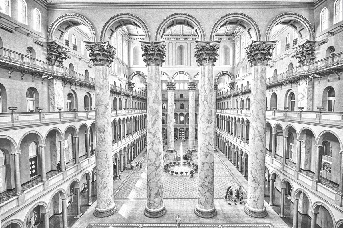 Photograph National Building Museum by Mike Hagen on 500px