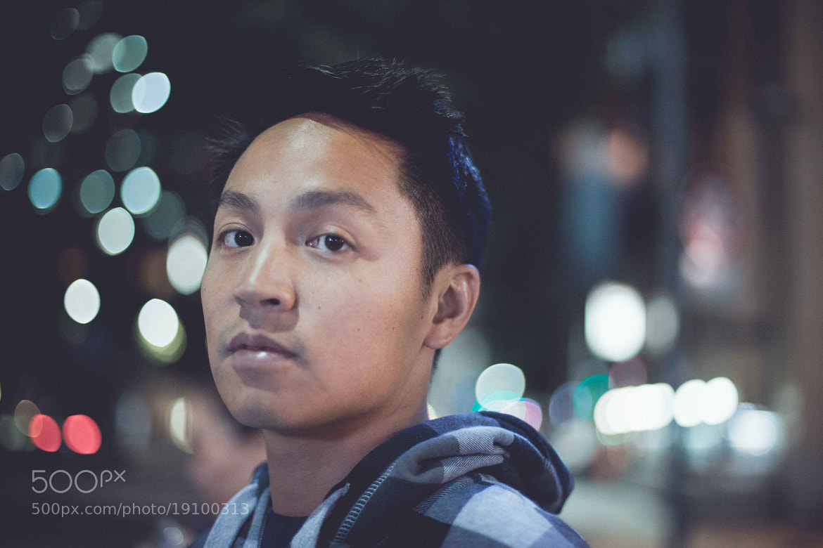 Photograph Cinematic City Guy by Stephanie Huynh  on 500px
