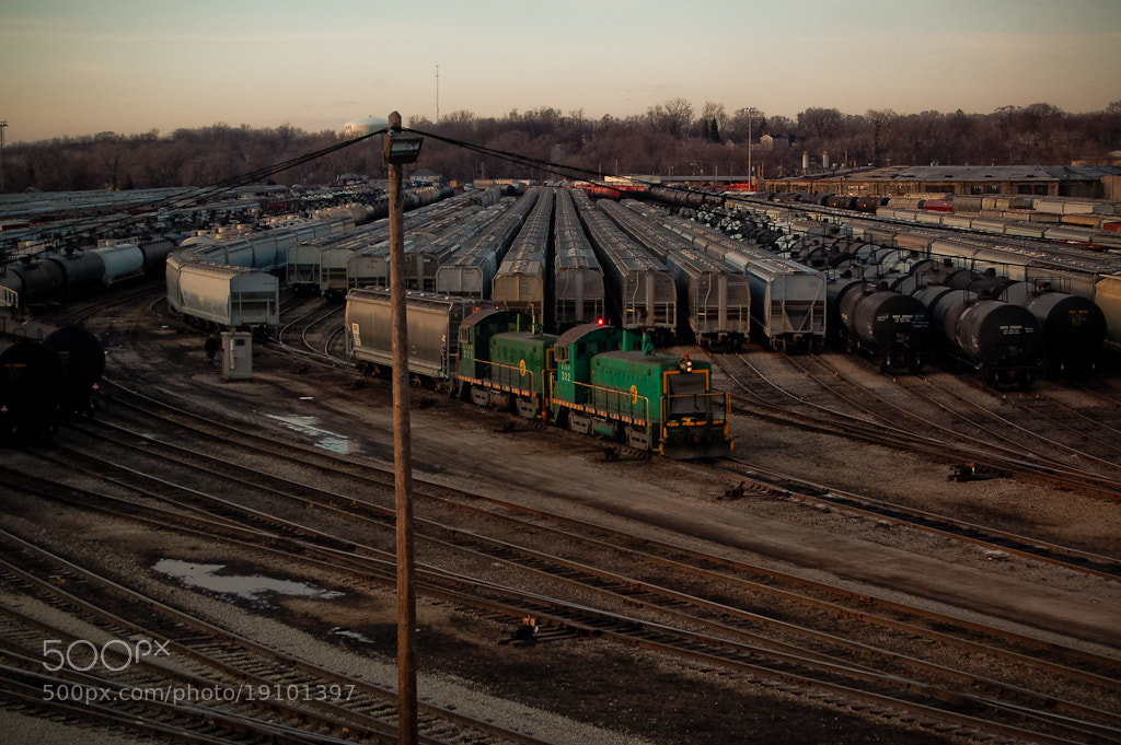 Photograph Joliet Yard by Sam D. on 500px