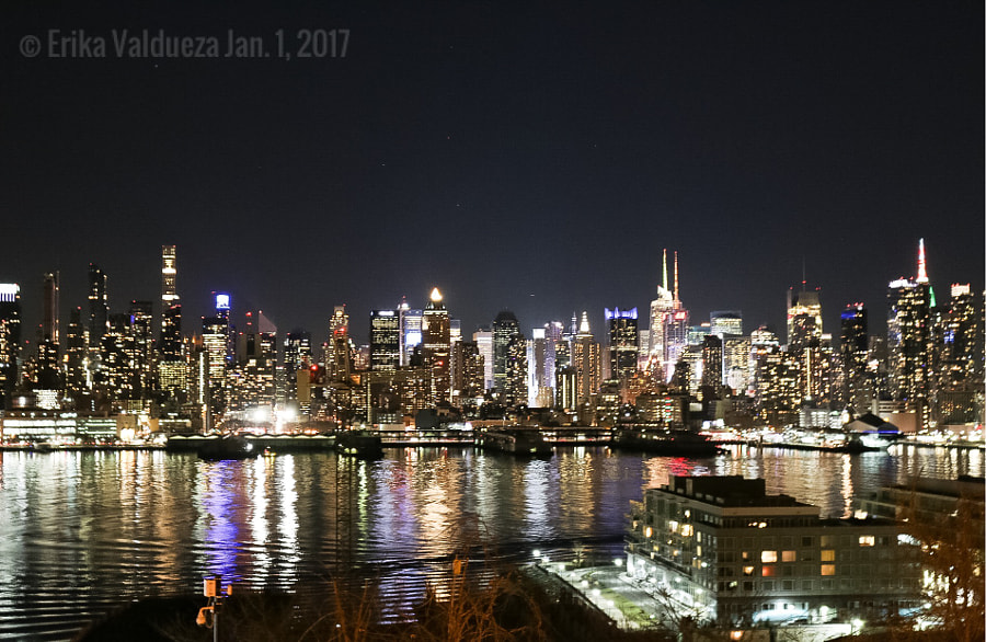 My view of the Manhattan Skyline from New Jersey by erika valdueza on 500px.com