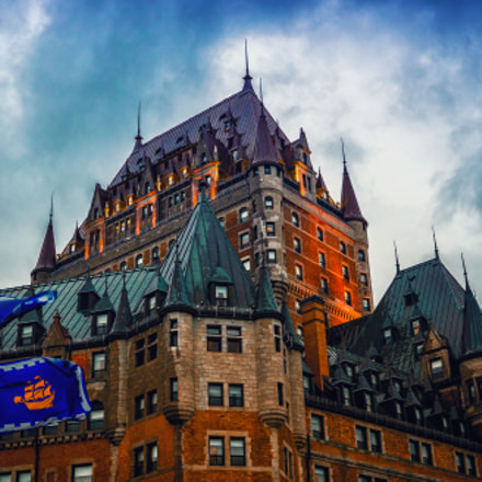 Chateau Frontenac, Sony ILCE-7, Sigma 30mm F2.8 [EX] DN