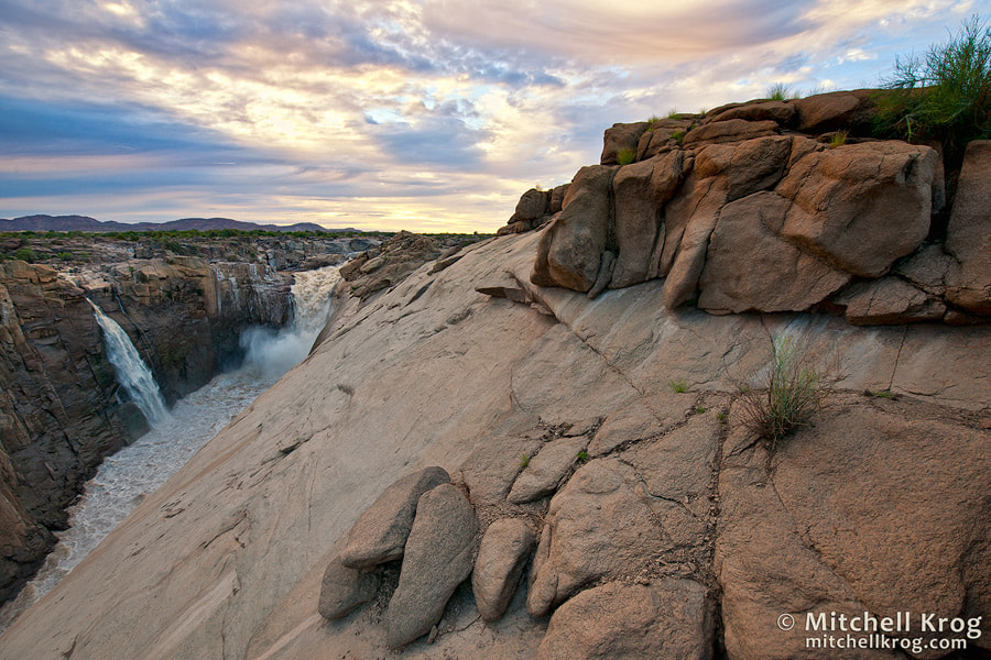Photograph Augrabies River Gorge at Sunrise by Mitchell Krog on 500px