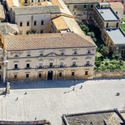 Syracuse Sicily. Cathedral Square, Pentax K200D, smc PENTAX-FA 28-80mm F3.5-4.7