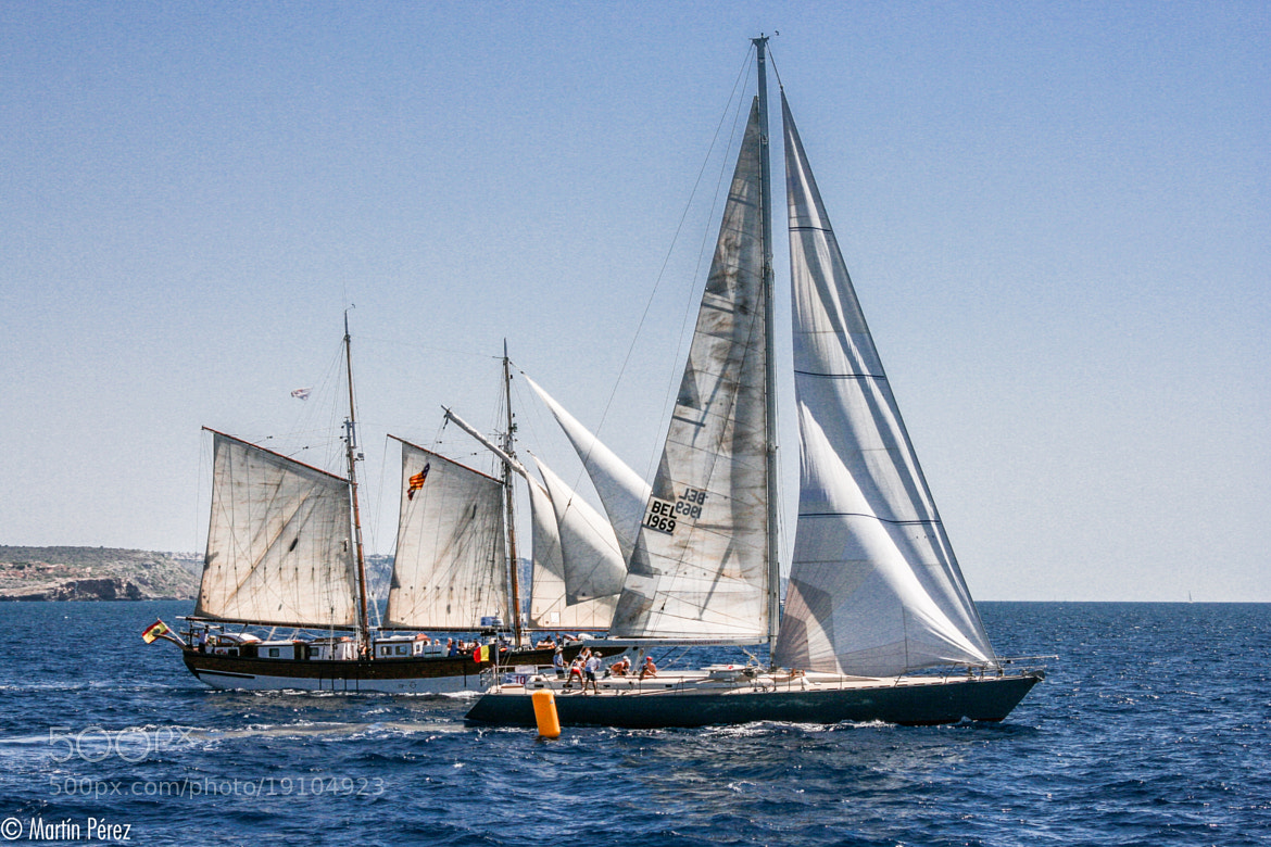 Photograph ancient sailing regatta by Martín Pérez on 500px