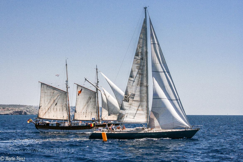 Photograph ancient sailing regatta by Martín Pérez on 500px
