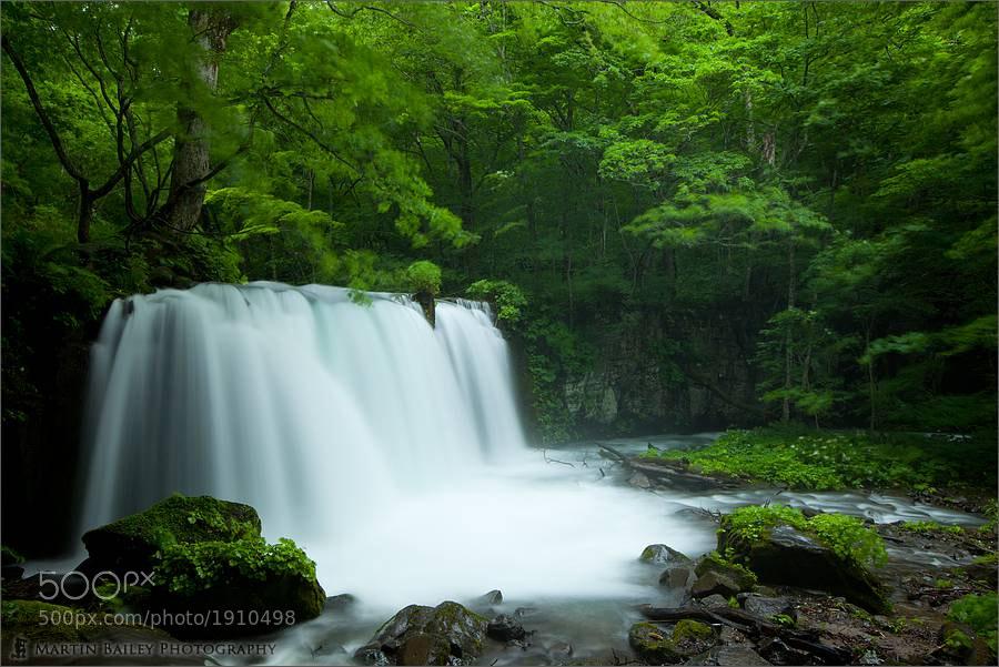 Photograph Oirase Choushi Ootaki (Big Falls) by Martin Bailey on 500px