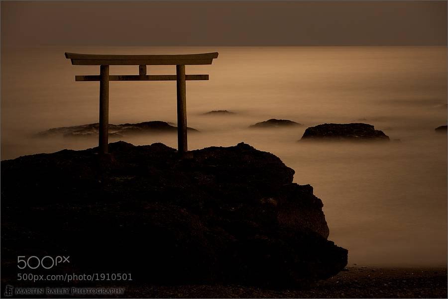 Photograph Ooarai Torii (Shinto Gate) by Martin Bailey on 500px