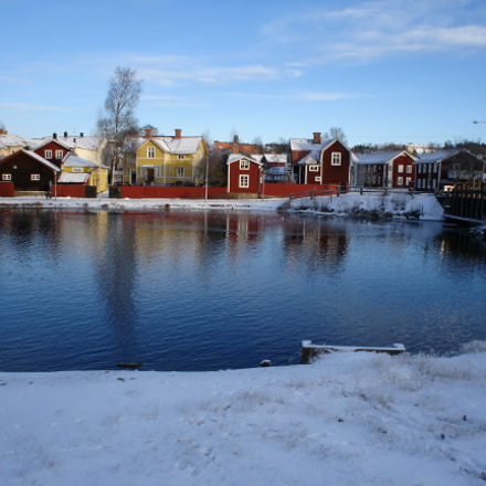 Beautiful Falun during wintertime, Sony DSC-P43