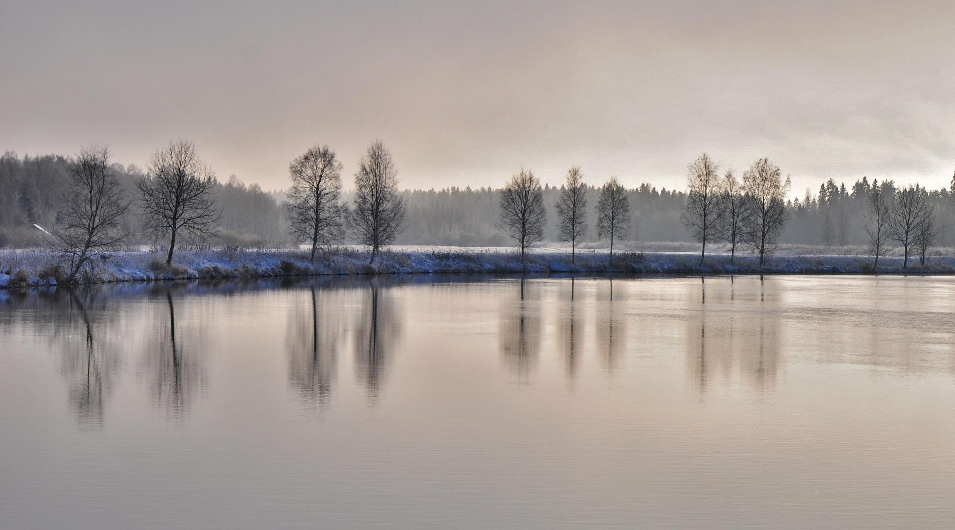 Photograph river in winter by Seppo Autio on 500px