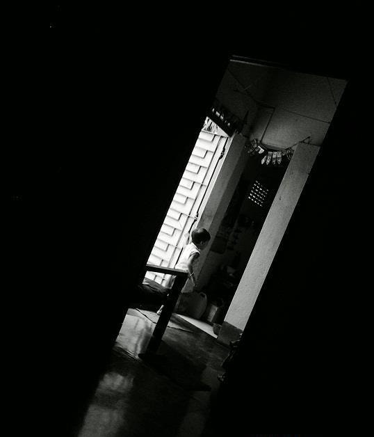 Photograph playing hide and seek (  mobile capture )  by SUBHA   on 500px