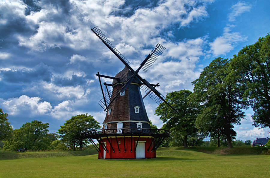 The Windmill at Kastellet