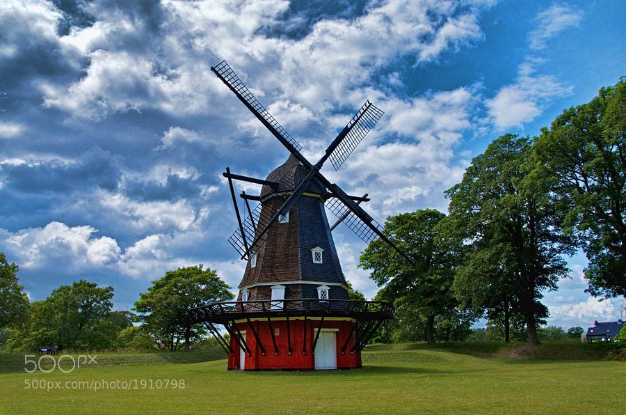 The Windmill at Kastellet
