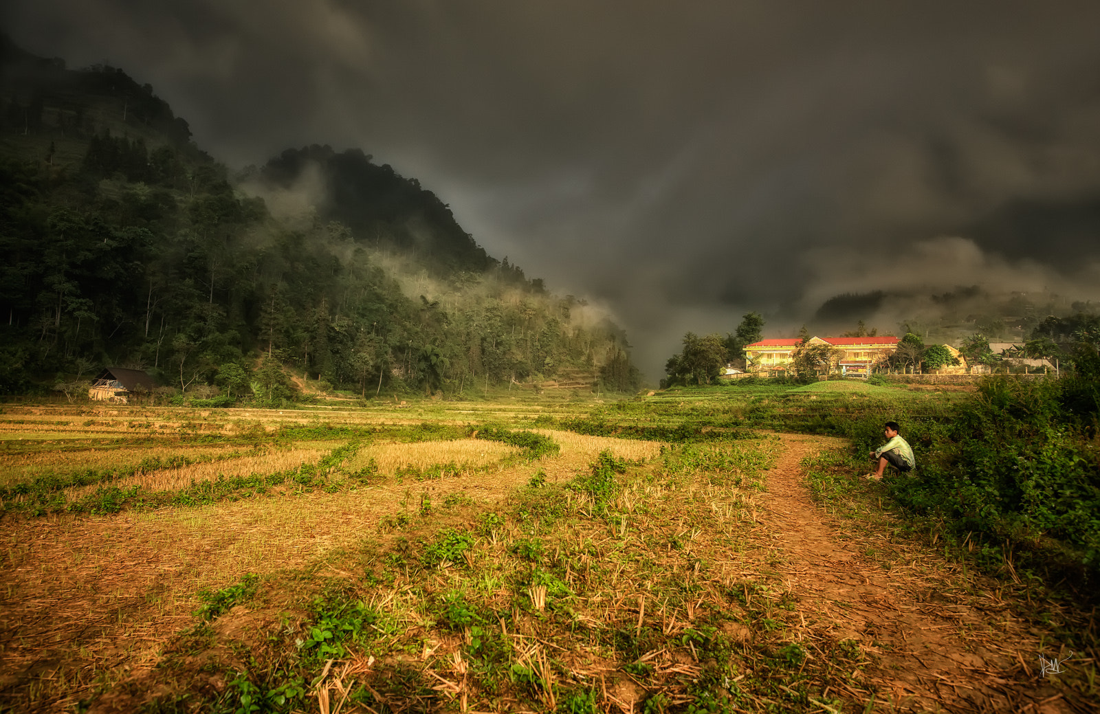 Photograph Storm in Sapa by Dean Mullin on 500px