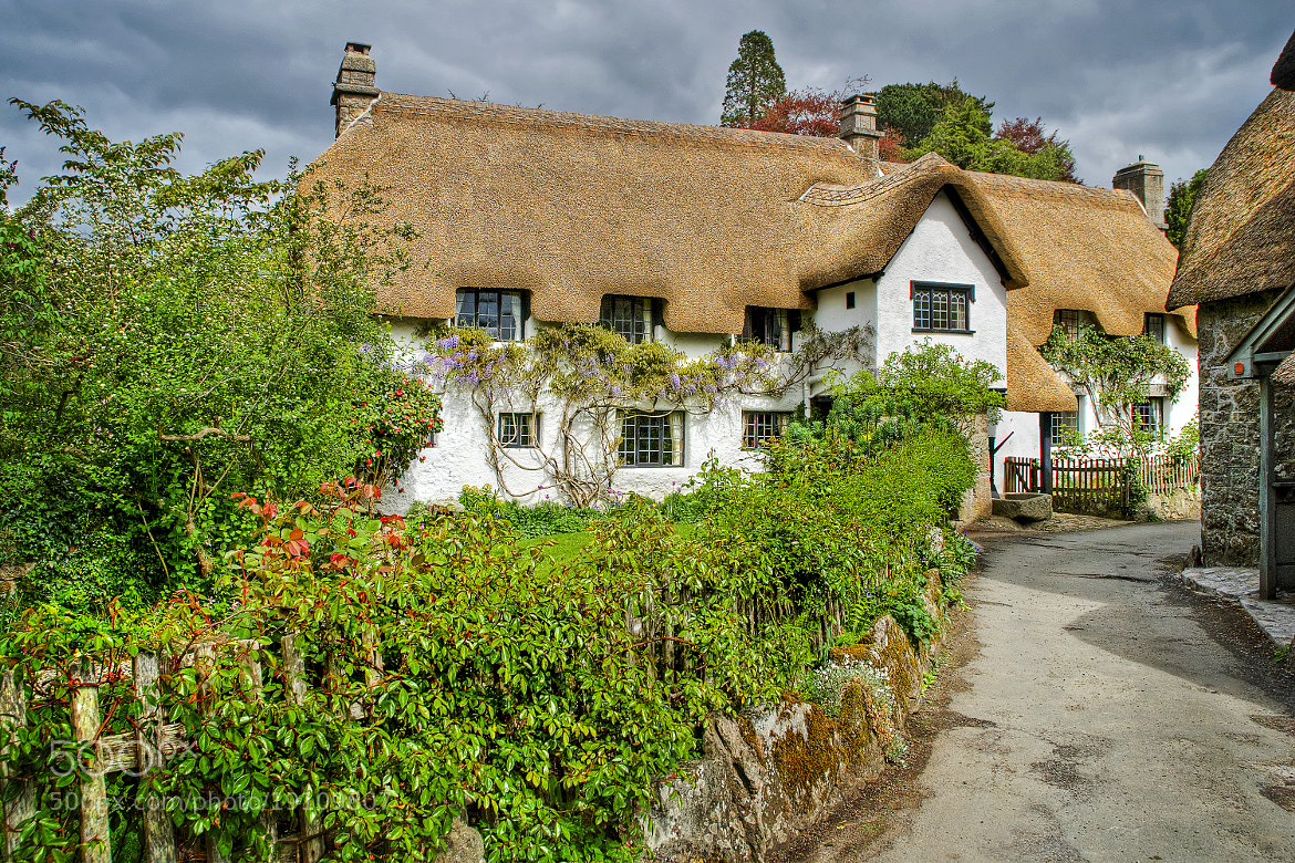 Photograph Thatched house, Lustleigh by Chris Spracklen on 500px