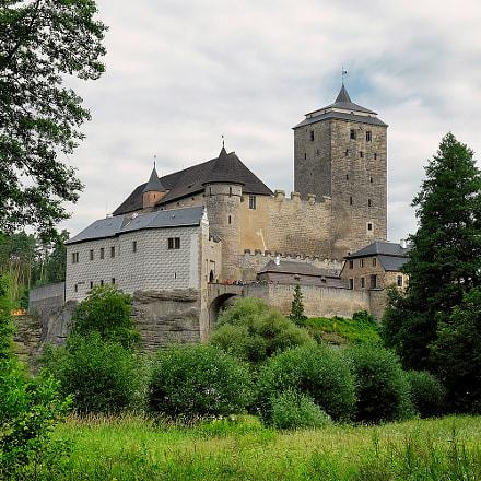 Medieval Kost Castle in Bohemia