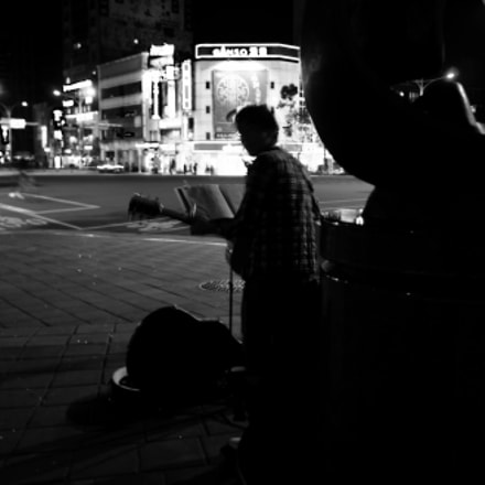 Street musician from Japan, Sony NEX-5N, Sony E 16mm F2.8