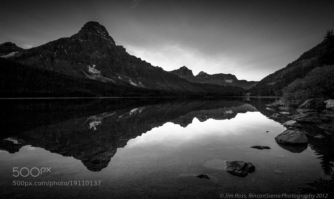 Photograph Vintage Mount Chephren and Waterfowl Lake Reflection!!! by Jim Ross on 500px