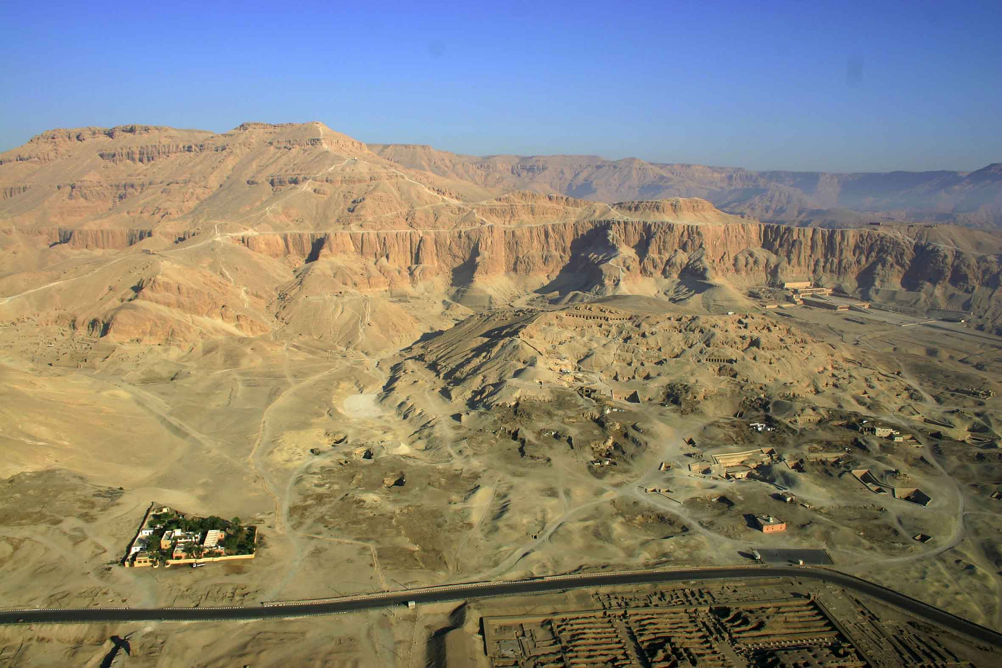 Photograph West bank Luxor aerial by desertman  on 500px