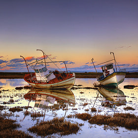 Sleeping boats by Christos Lamprianidis (christos-lamprianidis)) on 500px.com