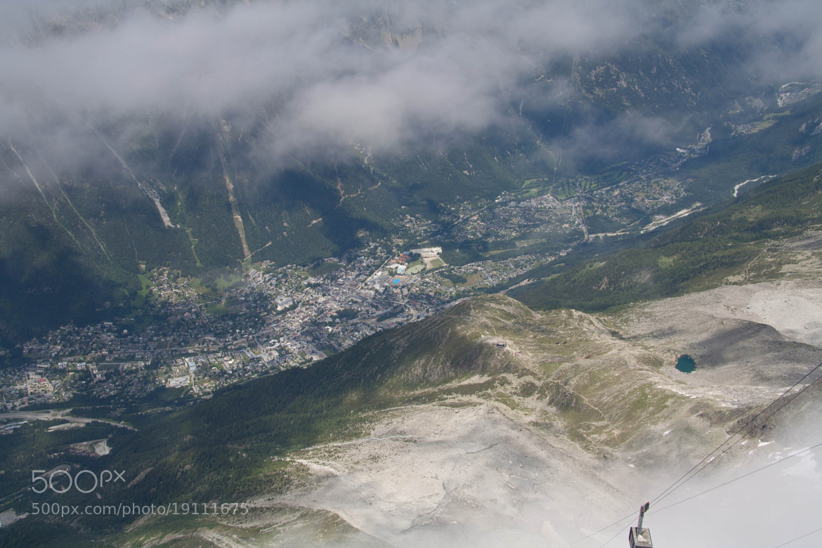 Photograph Chamonix - Birds eye view by Thomas Fotografie on 500px