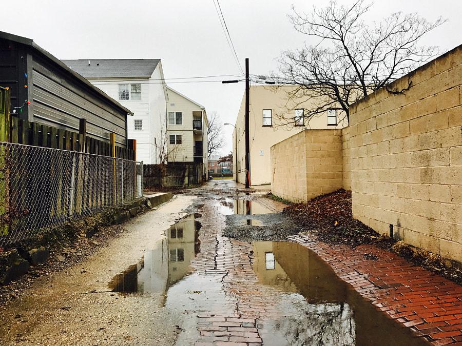 Back alleys of Hill East