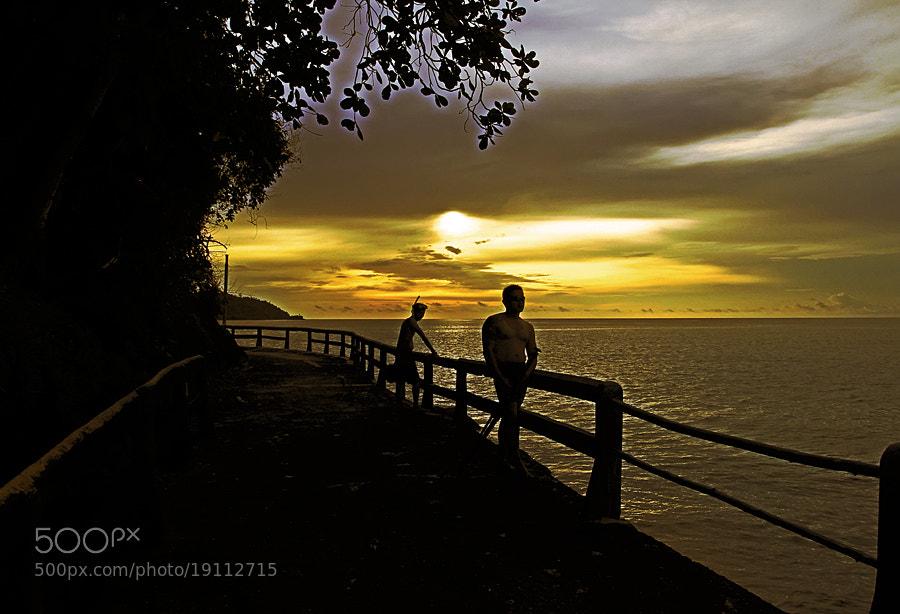 "Photograph ""Enjoying The Sunset"" by Sirajuddin Halim on 500px"
