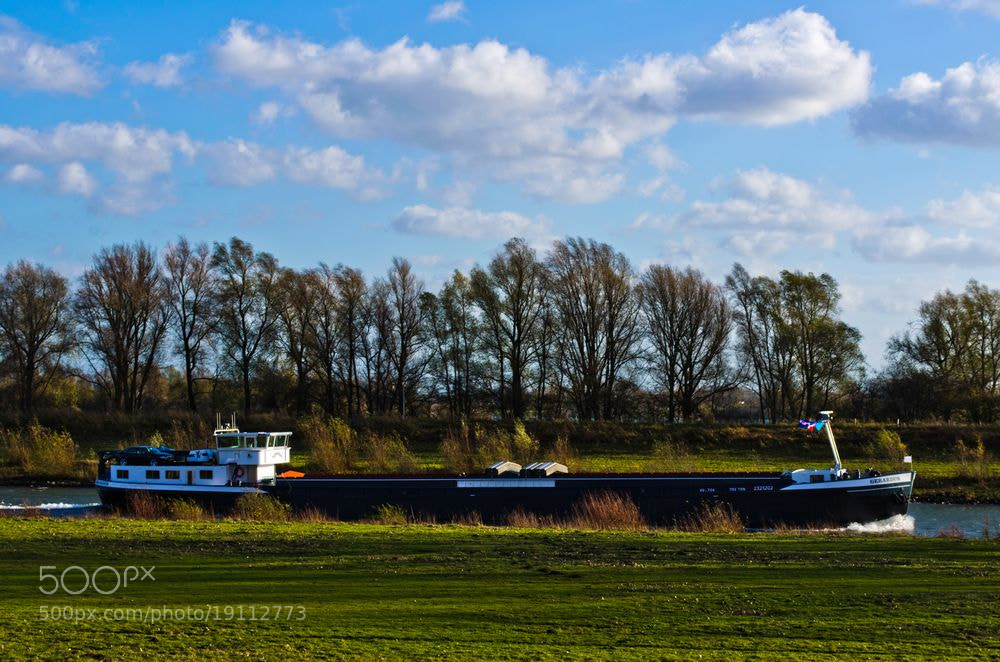 Photograph River; Ijssel by Happy Peppie on 500px