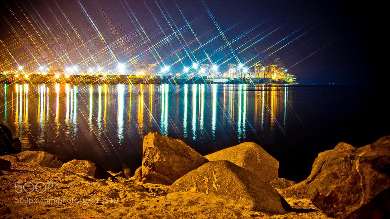 Photograph Jeddah sea port ... by Mohammed Abdo on 500px
