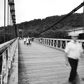 life moving on a bridge by Alessandro Fedele (alessandrofedele)) on 500px.com